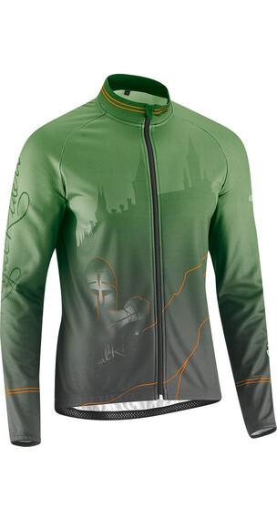 Gonso Abbess jersey lange mouwen Heren groen